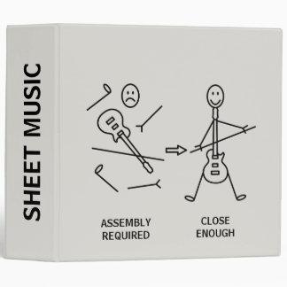 Sheet Music Binders