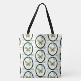 Sheet Music Butterfly TOTE