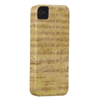 Sheet Music iPhone 4 Case