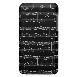 Sheet Music iPod Touch Black iPod Touch Case