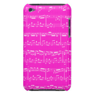 Sheet Music iPod Touch Pink iPod Case-Mate Cases