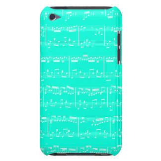 Sheet Music iPod Touch Turquoise iPod Touch Case-Mate Case