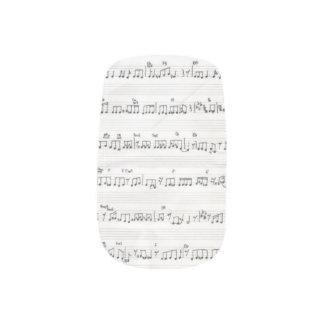 Sheet Music Minx Minx Nail Art