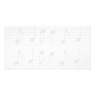 Sheet Music Photo Card Template