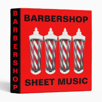 Sheet Music Vinyl Binder