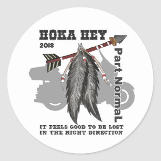 "Sheet of 20 - 1 1/2"" Stickers!  - Hoka Key Support Classic Round Sticker"