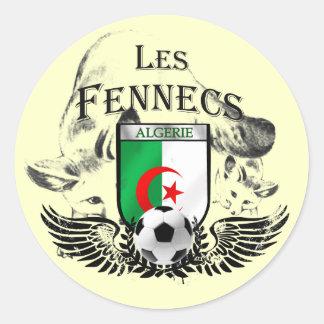 Sheet of 20 Algerie Les Fennecs Algeria Stickers
