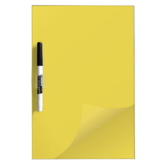 Sheet of paper dry erase board