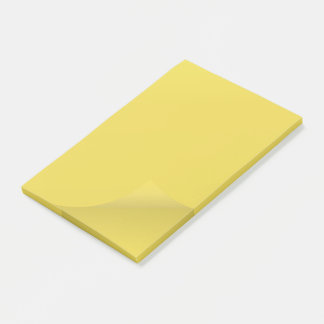 Sheet of paper post-it notes