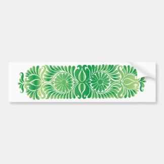 sheet sample leaf leaves pattern bumper sticker
