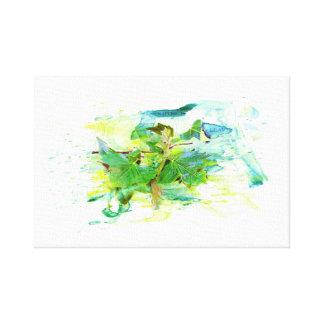 Sheets - Watercolor/water color, illustration Canvas Print