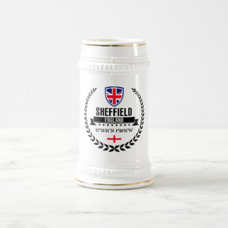 Sheffield Beer Stein