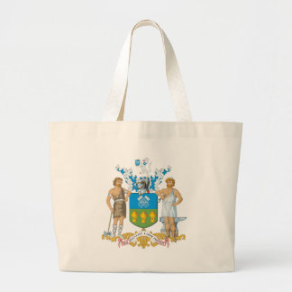 Sheffield Coat of Arms Large Tote Bag