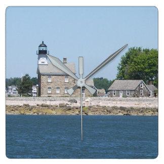 Sheffield Island Lighthouse, Connecticut Clock