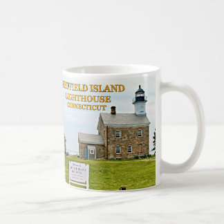 Sheffield Island Lighthouse, Connecticut Coffee Mug