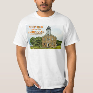 Sheffield Island Lighthouse, Connecticut T-Shirt