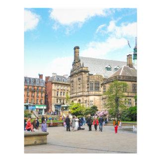 Sheffield Letterhead Template