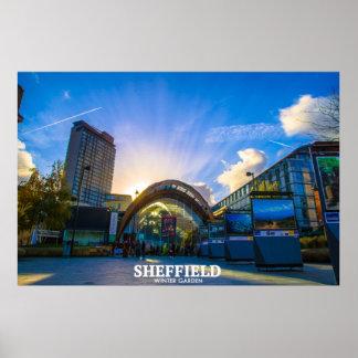 Sheffield Winter Garden Poster
