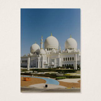 Sheikh Zayed Grand Mosque,Abu Dhabi Business Card