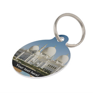 Sheikh Zayed Grand Mosque,Abu Dhabi Pet ID Tag