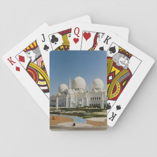 Sheikh Zayed Grand Mosque,Abu Dhabi Playing Cards