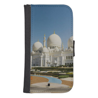 Sheikh Zayed Grand Mosque,Abu Dhabi Samsung S4 Wallet Case
