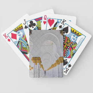 Sheikh Zayed Grand Mosque columns,Abu Dhabi Bicycle Playing Cards