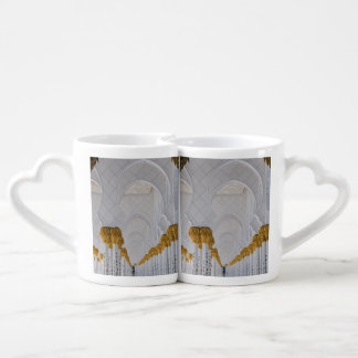 Sheikh Zayed Grand Mosque columns,Abu Dhabi Coffee Mug Set