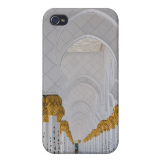 Sheikh Zayed Grand Mosque columns,Abu Dhabi Cover For iPhone 4