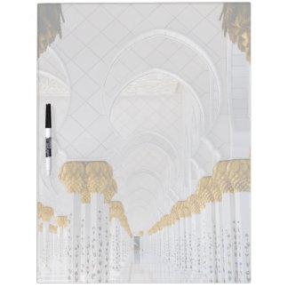 Sheikh Zayed Grand Mosque columns,Abu Dhabi Dry Erase Board