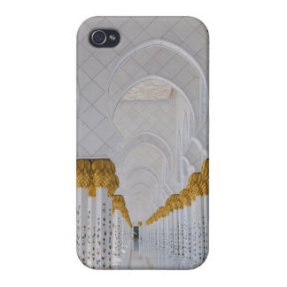 Sheikh Zayed Grand Mosque columns,Abu Dhabi iPhone 4/4S Covers