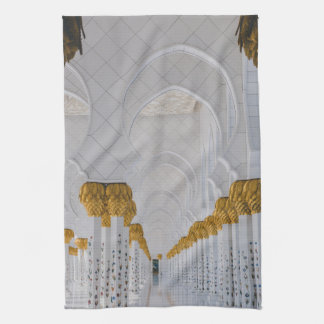 Sheikh Zayed Grand Mosque columns,Abu Dhabi Kitchen Towel