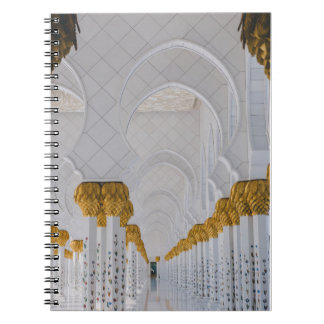 Sheikh Zayed Grand Mosque columns,Abu Dhabi Notebook