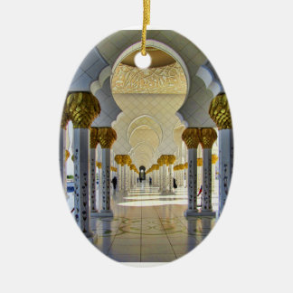 Sheikh Zayed Grand Mosque Corridor Ceramic Ornament