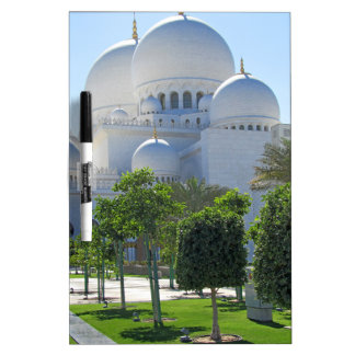 Sheikh Zayed Grand Mosque Domes Dry Erase Board
