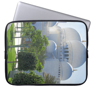 Sheikh Zayed Grand Mosque Domes Laptop Sleeve