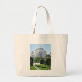Sheikh Zayed Grand Mosque Domes Large Tote Bag