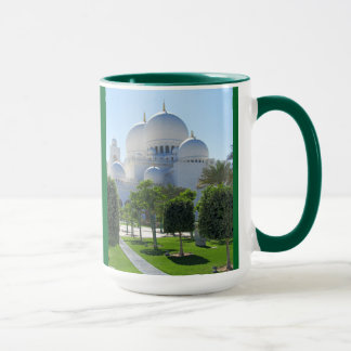 Sheikh Zayed Grand Mosque Domes Mug