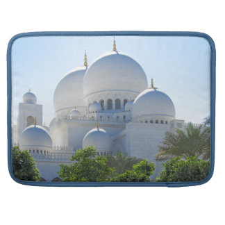 Sheikh Zayed Grand Mosque Domes Sleeve For MacBook Pro