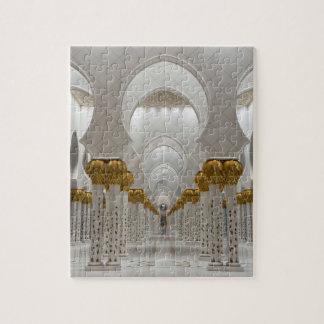 Sheikh Zayed Grand mosque in Abu Dhabi, United Ara Puzzles