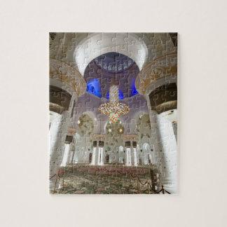 Sheikh Zayed mosque in Abu Dhabi Jigsaw Puzzle
