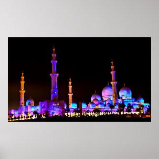 Sheikh Zayed Mosque Poster