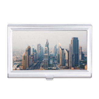 Sheikh Zayed Road Business Card Holder