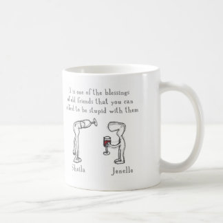 Sheila and Jenelle Coffee Mug