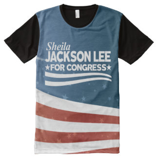 Sheila Jackson Lee All-Over-Print T-Shirt