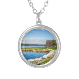 Shelburne Waterfront Silver Plated Necklace