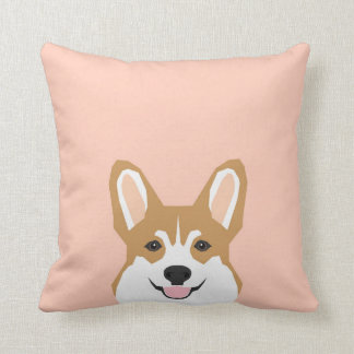 Shelby - Corgi Welsh Pembroke Corgi Cute Dog Throw Pillow