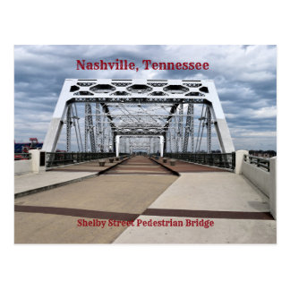 Shelby Street Pedestrian Bridge Postcard