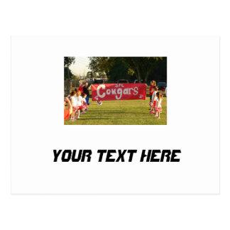Sheldon Football League Cougars Under 8 Postcard