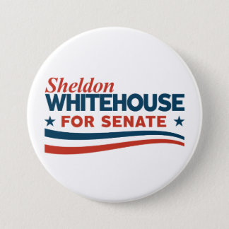 Sheldon Whitehouse for Senate 3 Inch Round Button